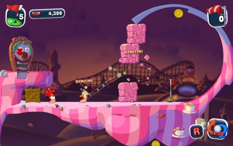 Screenshot 12 - Worms Crazy Golf