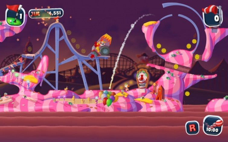 Screenshot 7 - Worms Crazy Golf
