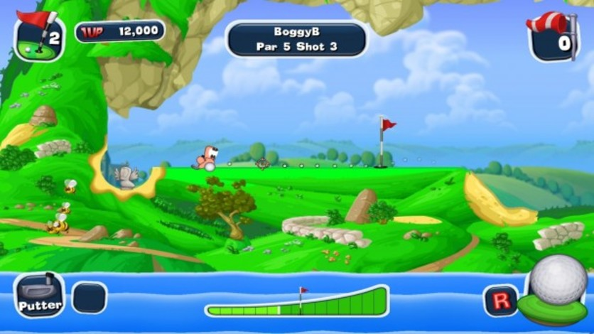 Screenshot 14 - Worms Crazy Golf