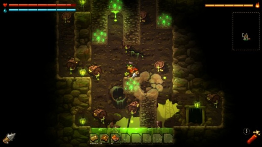 Screenshot 7 - SteamWorld Dig