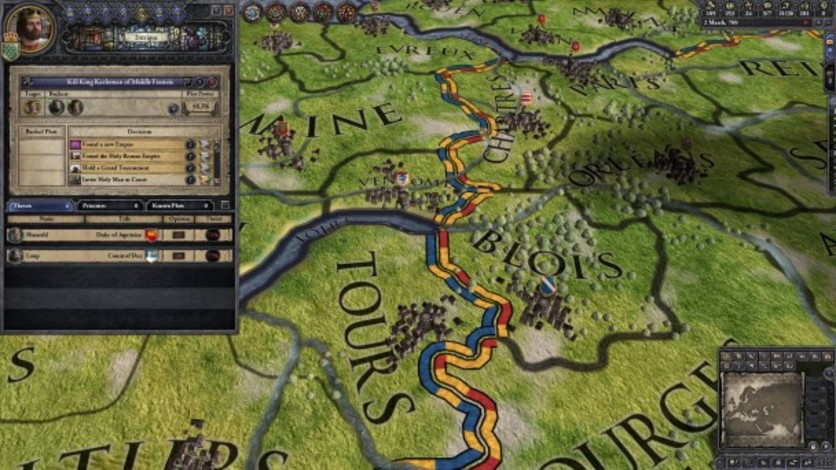 Screenshot 1 - Crusader Kings II: Charlemagne