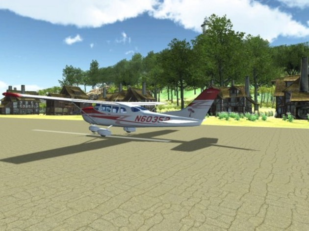 Screenshot 3 - Island Flight Simulator