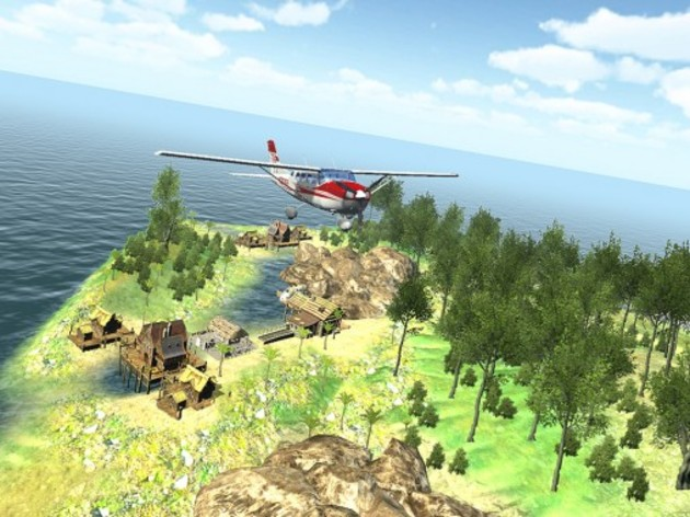 Screenshot 2 - Island Flight Simulator