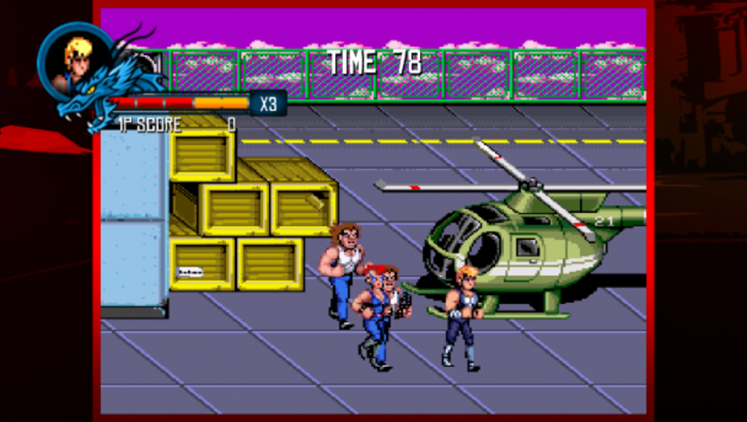 Screenshot 2 - Double Dragon Trilogy