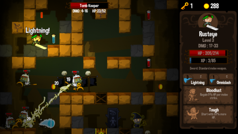 Screenshot 2 - Vertical Drop Heroes HD