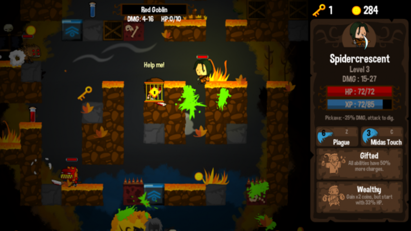 Screenshot 3 - Vertical Drop Heroes HD