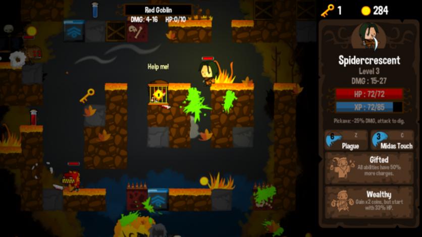 Screenshot 3 - Vertical Drop Heroes HD