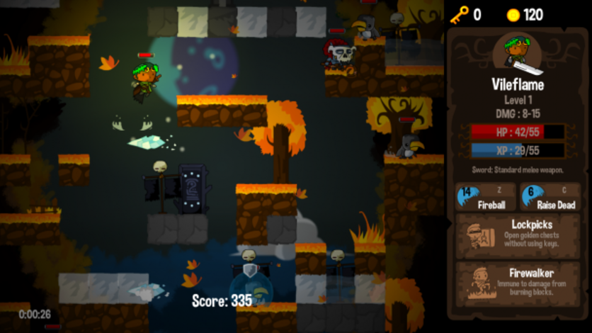 Screenshot 4 - Vertical Drop Heroes HD