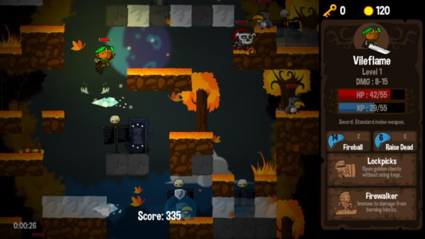 Screenshot 4 - Vertical Drop Heroes HD
