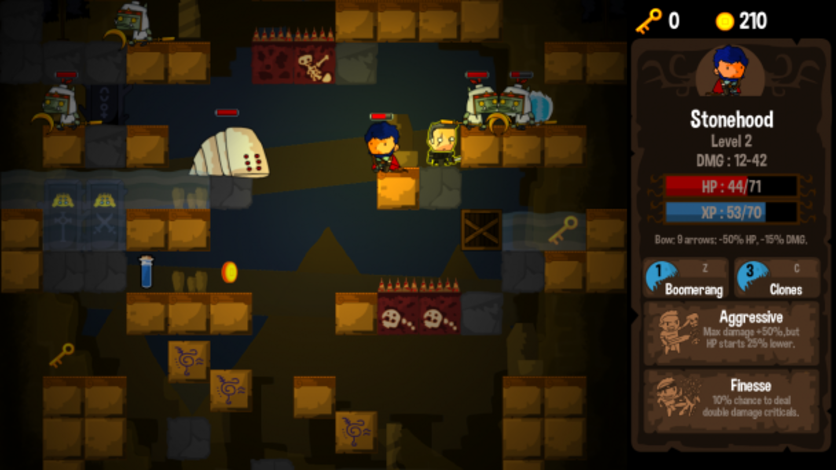 Screenshot 7 - Vertical Drop Heroes HD