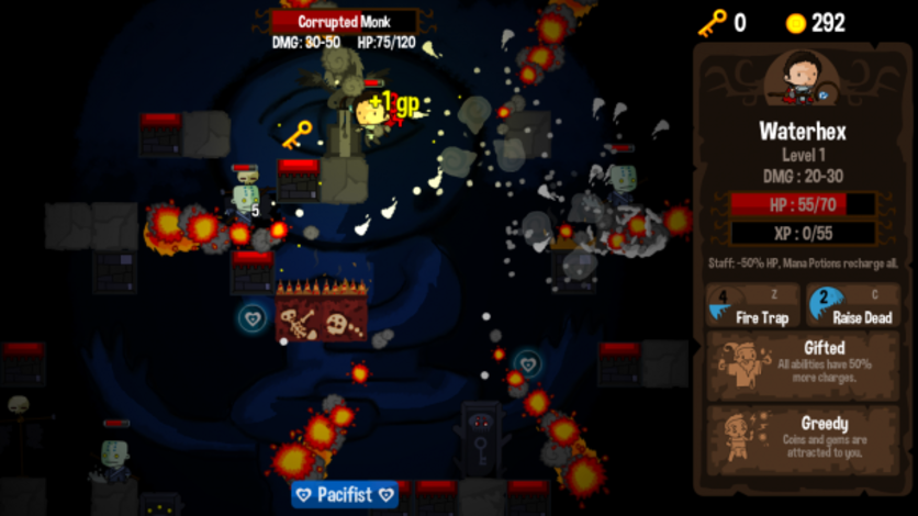 Screenshot 10 - Vertical Drop Heroes HD
