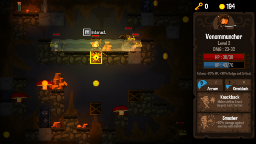Screenshot 8 - Vertical Drop Heroes HD