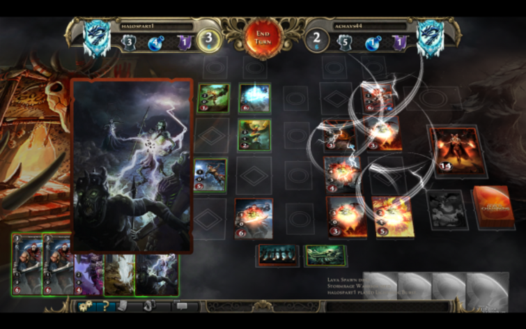 Screenshot 1 - Might & Magic: Duel of Champions - Advanced Pack 1