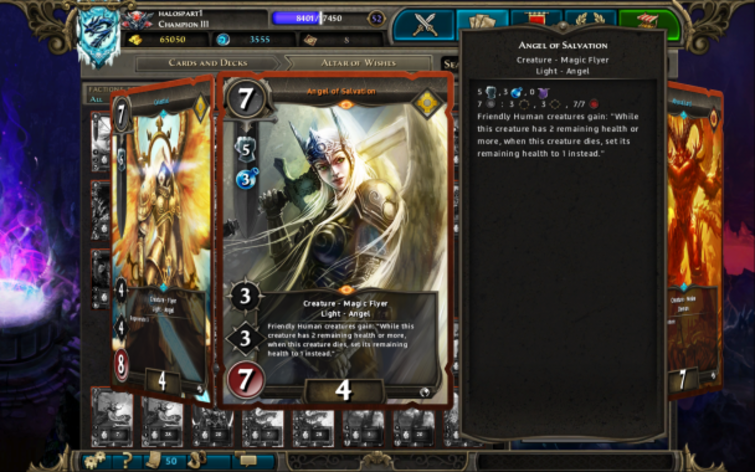 Screenshot 2 - Might & Magic: Duel of Champions - Heart of Nightmare Pack