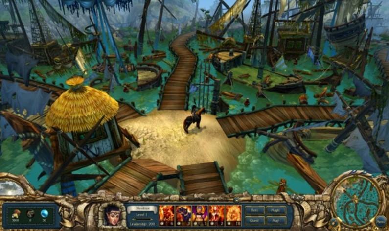 Screenshot 3 - King's Bounty: Dark Side