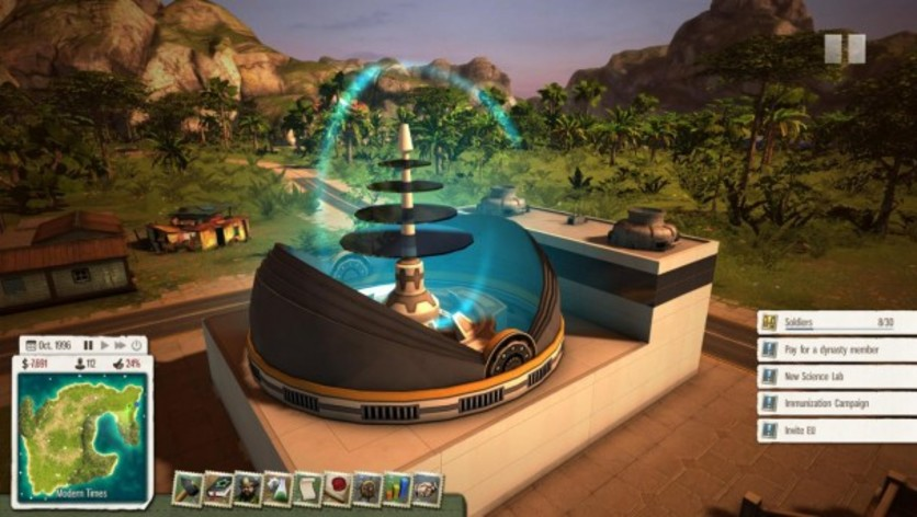 Screenshot 3 - Tropico 5: Supervillain