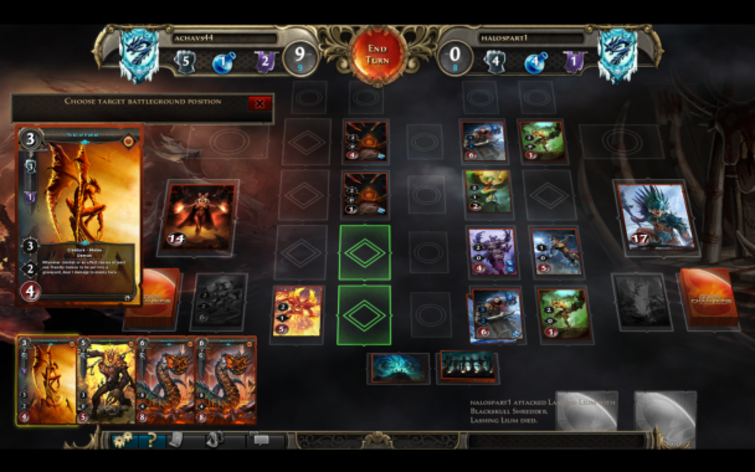 Screenshot 4 - Might & Magic: Duel of Champions - World Champion 2013