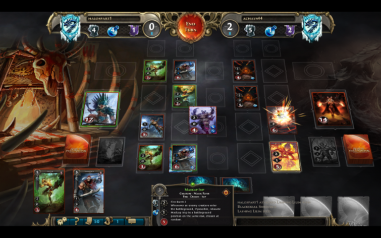 Screenshot 1 - Might & Magic: Duel of Champions - World Champion 2013