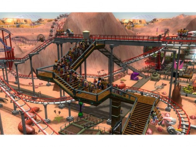 Screenshot 3 - RollerCoaster Tycoon 3: Platinum
