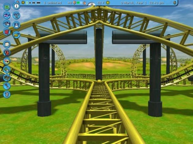 Screenshot 2 - RollerCoaster Tycoon 3: Platinum