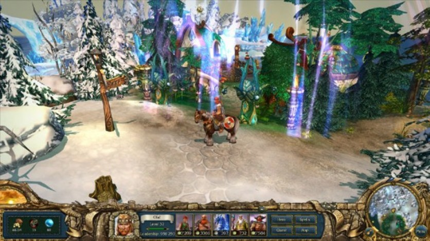 Screenshot 2 - King's Bounty: Warriors of the North - Ice and Fire