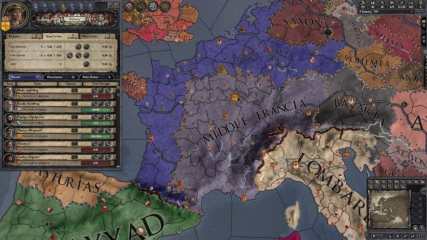 Screenshot 10 - Crusader Kings II: Early Western Clothing Pack