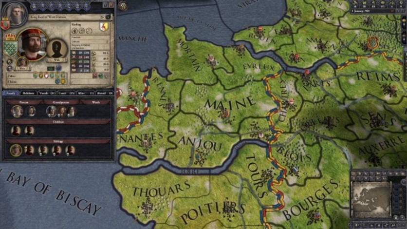 Screenshot 9 - Crusader Kings II: Early Western Clothing Pack