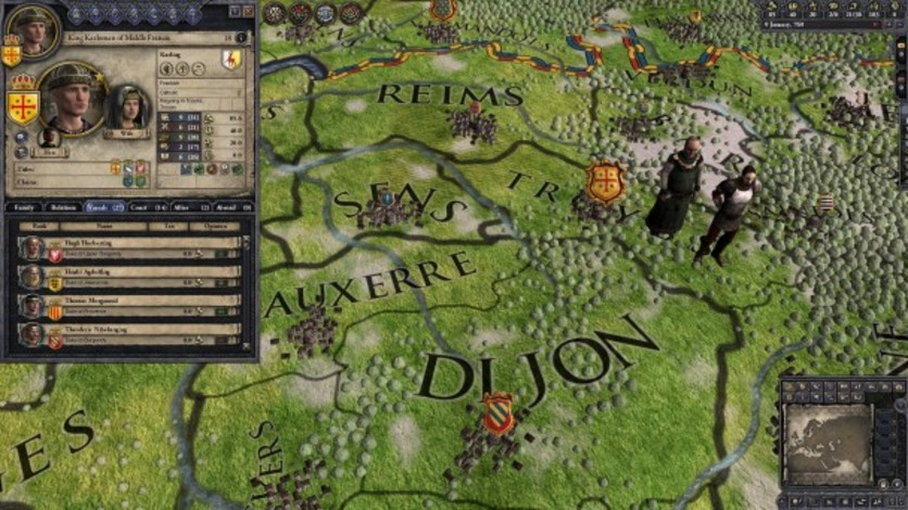 Screenshot 7 - Crusader Kings II: Early Western Clothing Pack