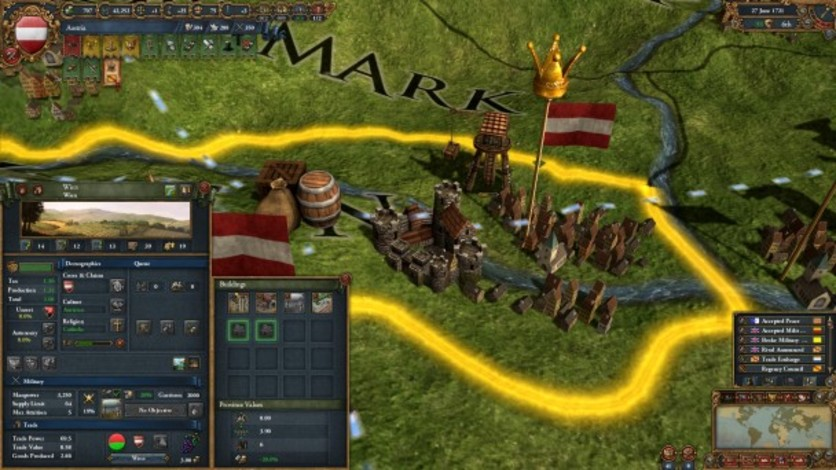 Screenshot 2 - Europa Universalis IV: Sounds from the Community - Kairis Soundtrack