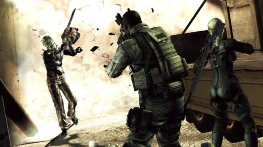 Screenshot 3 - Resident Evil 5 - Gold Edition