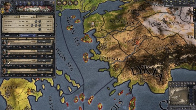Screenshot 10 - Crusader Kings II: Early Eastern Clothing Pack