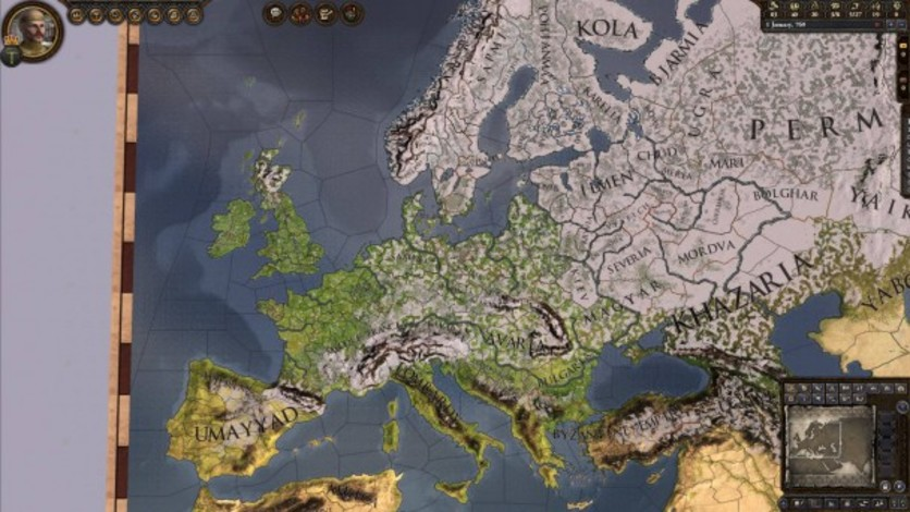 Screenshot 5 - Crusader Kings II: Dynasty Shields Charlemagne