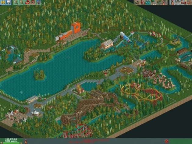 Screenshot 2 - RollerCoaster Tycoon 2: Triple Thrill Pack