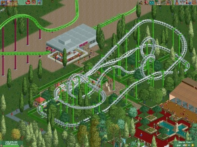 Screenshot 3 - RollerCoaster Tycoon 2: Triple Thrill Pack