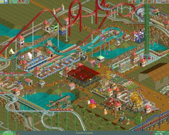 Screenshot 4 - RollerCoaster Tycoon 2: Triple Thrill Pack