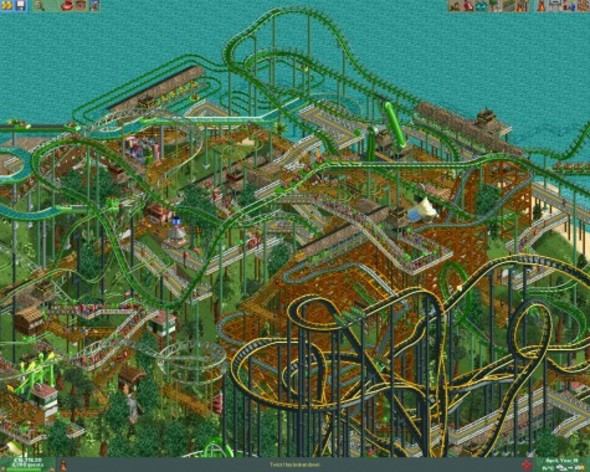 Screenshot 5 - RollerCoaster Tycoon 2: Triple Thrill Pack