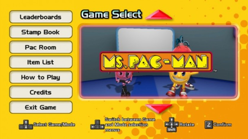 Screenshot 1 - PAC-MAN MUSEUM - Ms. PAC-MAN