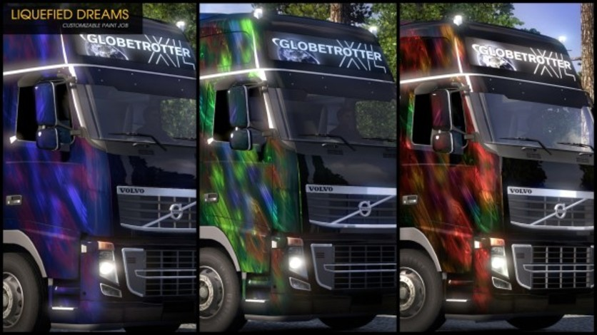 Screenshot 9 - Euro Truck Simulator 2 - Flip Paint Designs
