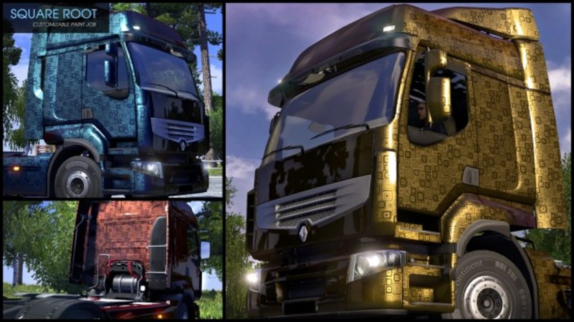 Screenshot 3 - Euro Truck Simulator 2 - Flip Paint Designs