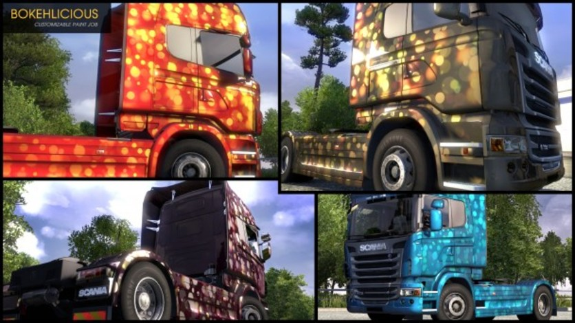 Screenshot 2 - Euro Truck Simulator 2 - Flip Paint Designs