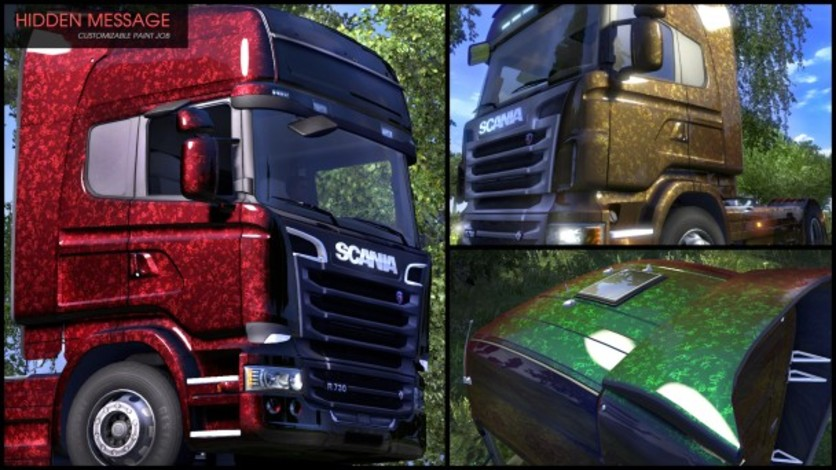 Screenshot 1 - Euro Truck Simulator 2 - Flip Paint Designs