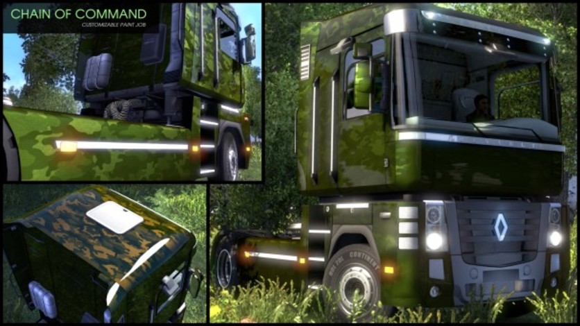 Screenshot 7 - Euro Truck Simulator 2 - Flip Paint Designs