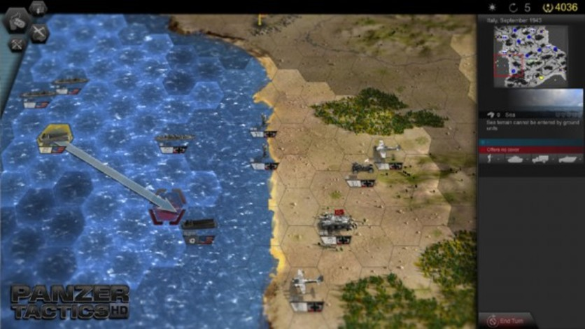 Screenshot 8 - Panzer Tactics HD