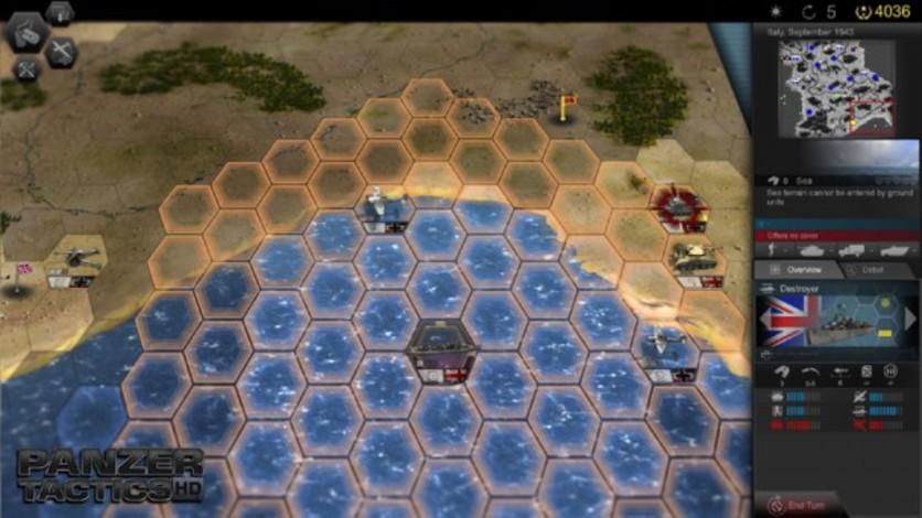 Screenshot 7 - Panzer Tactics HD