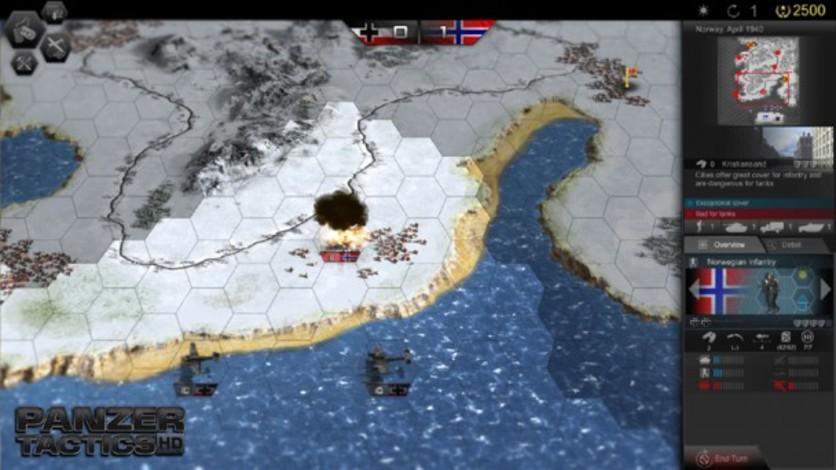 Screenshot 6 - Panzer Tactics HD