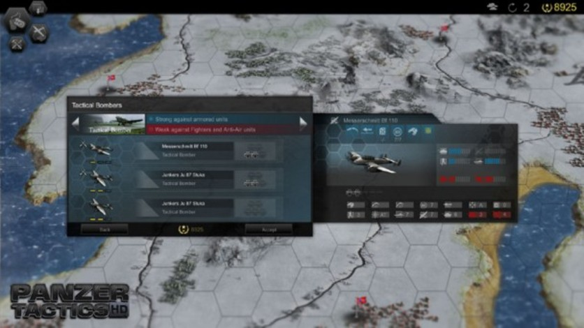 Screenshot 5 - Panzer Tactics HD