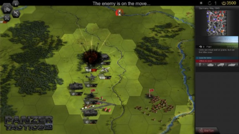 Screenshot 4 - Panzer Tactics HD