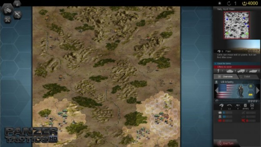 Screenshot 3 - Panzer Tactics HD