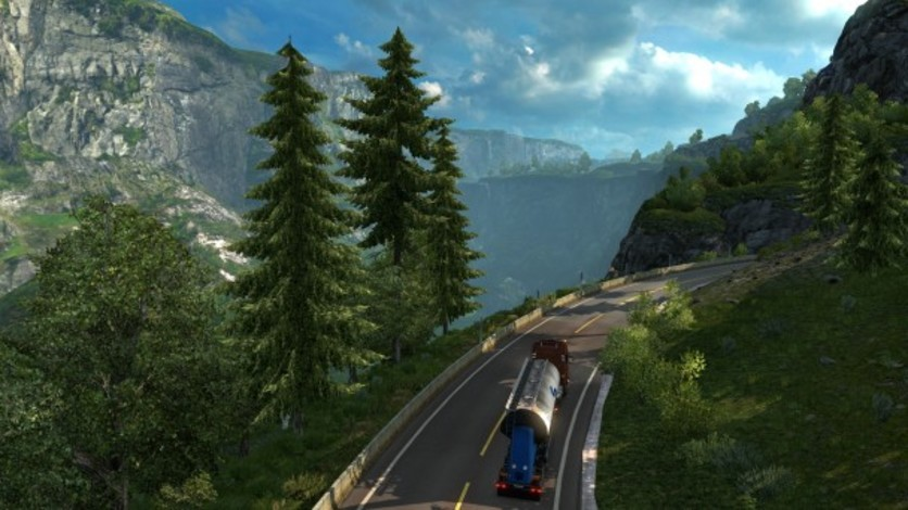 Screenshot 1 - Euro Truck Simulator 2 - Scandinavia
