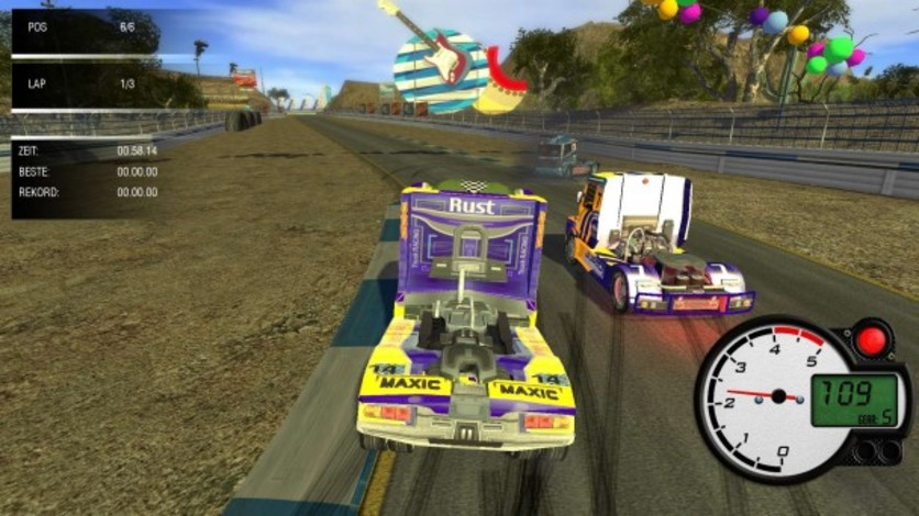 Screenshot 4 - World Truck Racing